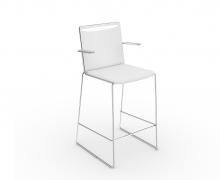 Viasit Klikit hoge stoel armleuningen