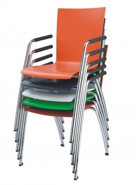 Viasit Object stapelbare stoelen