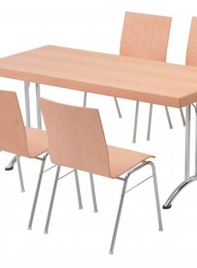 Viasit Object stoel met klaptafel